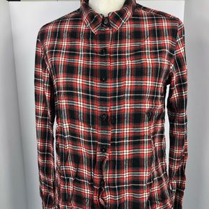 Forever 21 fall flannel women's size small EUC